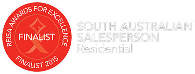 REISA Real Estate Salesperson of the year South Australia - Finalist