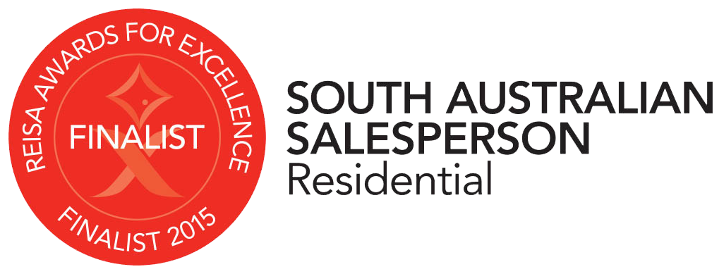REISA Awards For Excellence - South Australian Salesperson - Finalist 2015