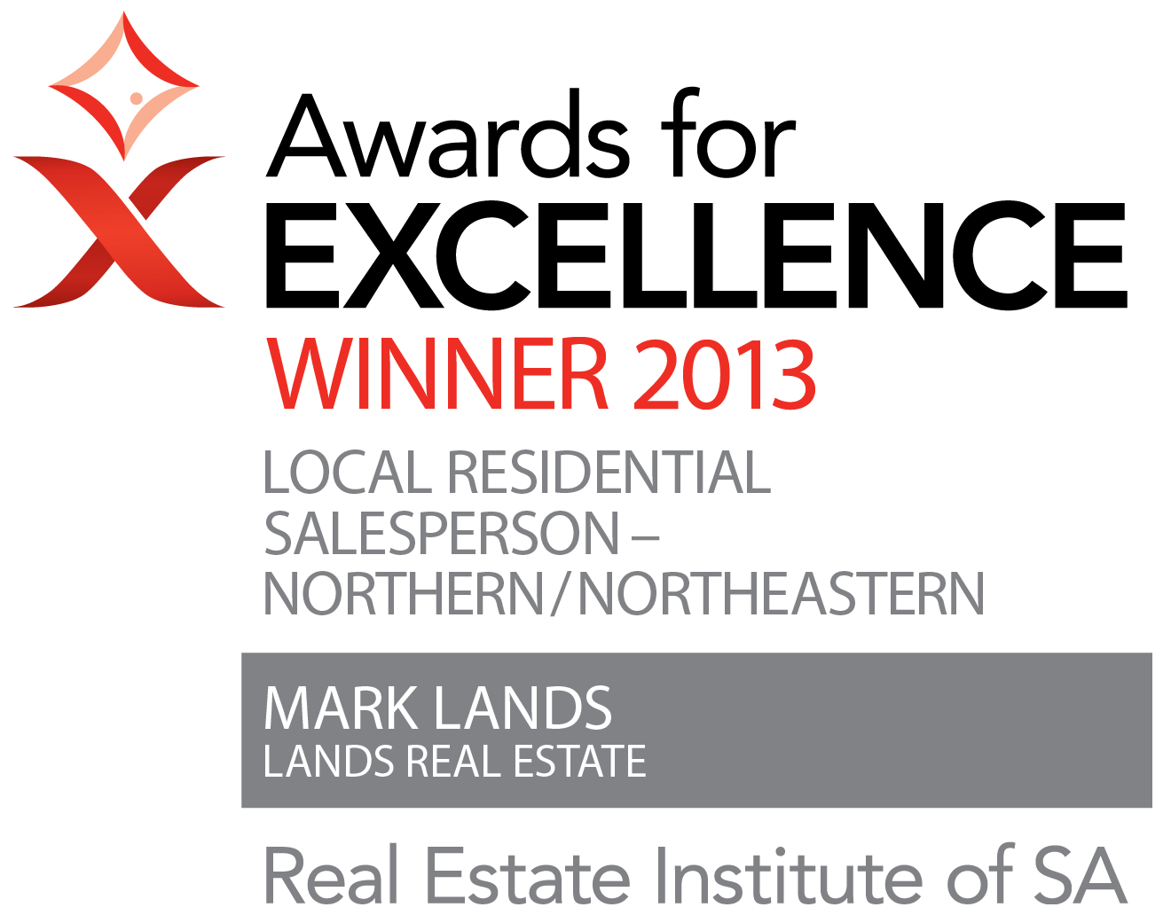 REISA Awards For Excellence - Winner 2013 - Local Residential Salesperson - North-Northeastern